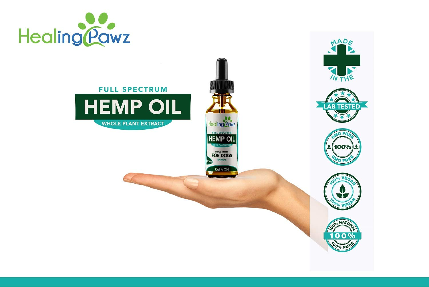 Hemp Oil for Pets - Full Spectrum Extract Food Supplement - Licensed UK  Grown & Production - Anxiety Relief/Pain & Joint Health for Dogs & Cats