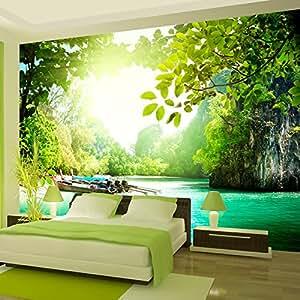 Wallpaper 300x210 cm non woven murals wall mural for Amazon mural wallpaper