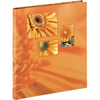 Hama Album porta foto autoadesivo Singo, 20 pagine 28x31 cm, colore arancio