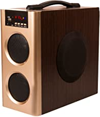 Flow Muzic Wave Boombox Mini Tower Speaker with Built in FM USB Bluetooth and AUX Feature`