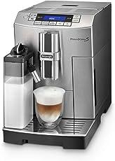 De'Longhi PrimaDonna S ECAM 28.466.MB Kaffeevollautomat (Digitaldisplay, integriertes Milchsystem, Lieblingsgetränke auf Knopfdruck, Edelstahlfront, 2-Tassen-Funktion) Edelstahlfront / silber