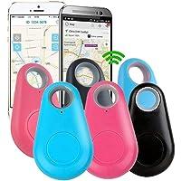 Lot de 6 mini localisateurs de clés GPS Bluetooth 4.0 pour voiture, appareil anti-perte GPS Tracker pour animal de…