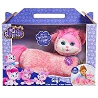 JP Kitty Surprise JPL42307 Gigi and Kittens Plush, 12 inches