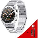 LEMFO Smart Watch 1.3 Inch Newest smart watch for men Full Touch Screen, Steel Stainless Fitness Trackers, Email,Facebook Cal