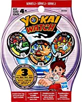 3 medals per bag;Kids can scan medals with the Yo-kai Watch Land app;Each medal shows a Yo-kai character;Collect them all!;Ages 4+ years