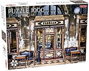 Tactic Cafe Florian 1000 pcs Puzzle - Rompecabezas (Puzzle Rompecabezas, Arte, Niños, Niño/niña, 9 año(s), Interior)