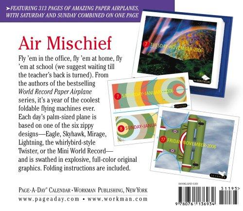Tiny Paper Air Plane 2006 (Page a Day Colour Calendar)