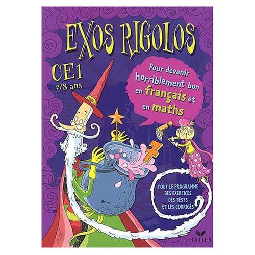 Exos rigolos : Mathématiques, Français, CE1 (Cahier d'activités, autocollants)