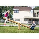Wippe Balkenwippe aus Holz für den Garten mit Balken 285