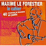 Le Cahier 40 Chansons de Brassens en public