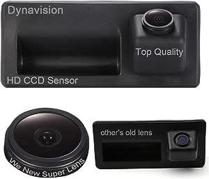 Rückfahrkamera Wasserdicht Nachtsicht Auto Rückansicht Kamera Einparkhilfe Rückfahrsystem Schwarz Für Trunk Handle Audi A4 Vw Tiguan