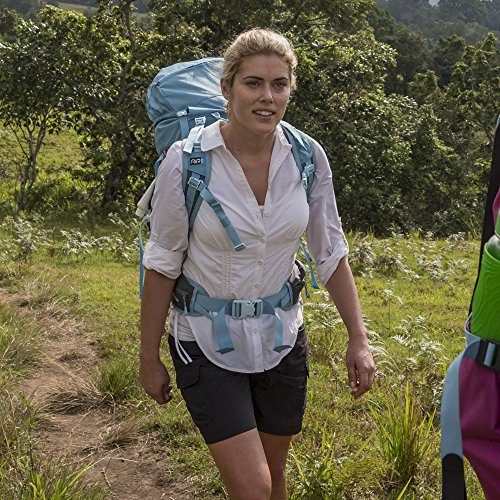 Kathmandu Activist v4 Atmungsaktive kurze Wanderhose für Damen Schwarz