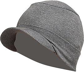 Gajraj Unisex Cotton Beanie Cap (COTTONHATDG_Grey)
