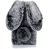 "EnjoyCase Case for iPhone 11 Pro Max 6.5"" Winter Plush Rabbit Ears Faux Fur Soft Gel Flexible Women Girls's 3D Cartoon Lovely"