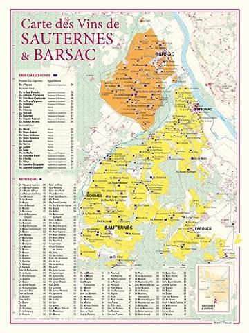 Carte des vins de Sauternes et