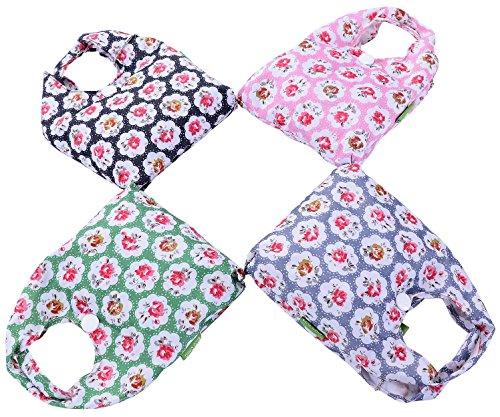 Big Handbag Shop riutilizzabili, Eco-Friendly, pieghevole e compatto, borsa per la spesa, Planet (Mini Rose - Baby Pink)