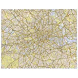 Premier Flat Paper 2012 Wall Map of London