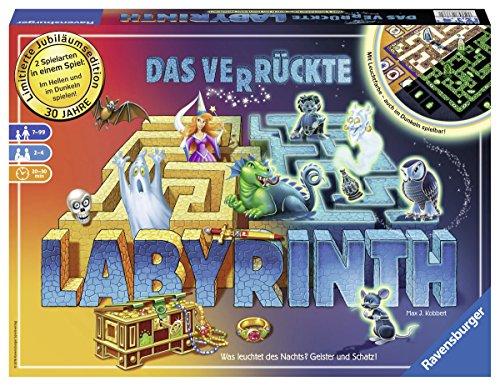 Ravensburger 26687 - Das verrückte Labyrinth - Jubiläums-Version Brettspiel, Das Magische Labyrinth