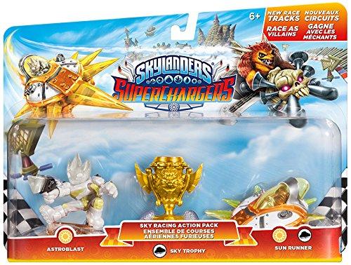 Activision Blizzard Deutschland Skylanders SuperChargers Racing Pack (Astroblast, Sun Runner, Villain Sky Trophy)