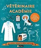 Vétérinaire académie - Livre-jeu - Dès 7 ans...