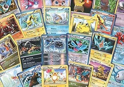 100 Assorted Pokemon Cards with Foils & Bonus Mew Promo! [Toy] de Pokemon Company International