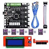 Biqu Kfb3.03d Control Board + LCD 2004module écran d'affichage carte mère + Drv8825Stepstick module de pilote de moteur pas à pas pour Reparp Mendel Prusa i3imprimante 3d Kossel