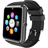 Willful Smartwatch Uomo Orologio Telefono con SIM SD Card Slot Smart Watch Bluetooth per Android Rispondere Chiamate…