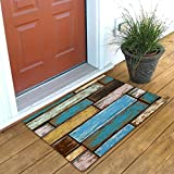 #8: Shree Fashion Hub Beautiful 3D Design Soft Flannel & Anti-Slip Indoor-Outdoor Welcome Door Mats For Home