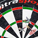 Ultrasport Sisal Dartboard Classic - 5