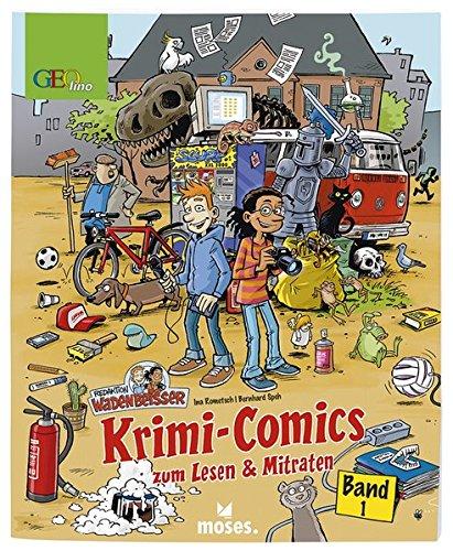 Redaktion Wadenbeißer Band 1 | Krimi-Comics zum Lesen und Mitraten | GEOlino