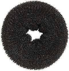 SENECIOTM Large 9.3cm Magic Donut Style Nylon Wire Stretchable Ring Hair Volumizer Bun Maker