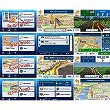 Quanmin Newest GPS Map Card 8Gb SD/TF Card For IGO Primo 8 UK RU DE ES IT FR ALL EU AU For GPS Navigation Map Updates GPS Software Wince system