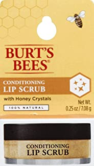 Burts Bees Conditioning Lip Scrub for Women with Honey Crystals, 7.08 g