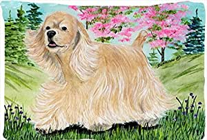 Caroline's Treasures SS8189PILLOWCASE Cocker Spaniel Moisture Wicking Fabric Standard Pillowcase, Large, Multicolor