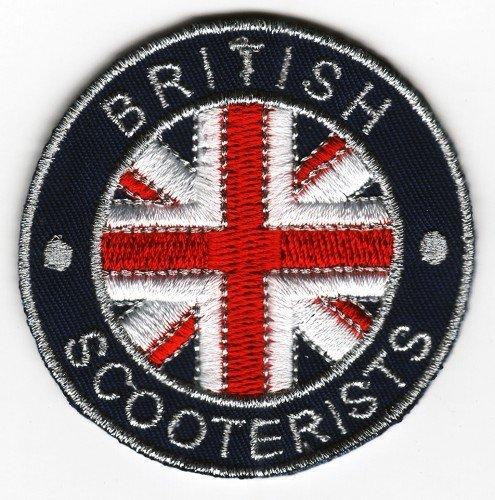 Sew-hierro-en parche bandera Reino Unido británico