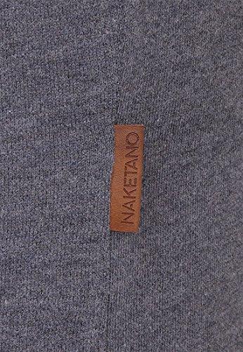 Naketano Male T-Shirt Bumsebumse Shirt Scarface Melange