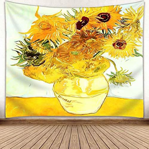 jtxqe Europäischen und Amerikanischen Wind New Moon Moonlight wandbehang malerei Serie Wohnzimmer Dekoration hängen Tapisserie GP15011 230 * 150