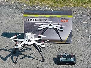 Multicopter Drone Invader MT1235 GPS u. GoHome