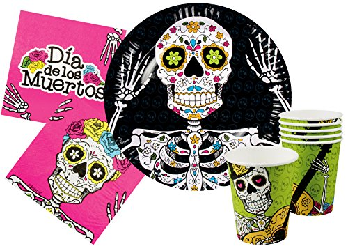 Ciao y4385 Kit Party Tisch Halloween Dia de Los -
