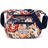 Borse a tracolla casual multi-tasca delle donne borse impermeabili di nylon della spalla
