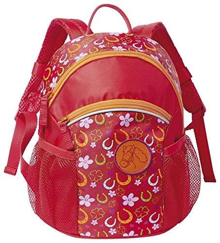 sigikid, Mädchen, Kindergartentasche Pferde Fan, Pony Sue, Rot, 23999 Rucksack / Pony Sue