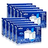 10x ( 20 Stk. ) Braun KWF2 Wasserfilter Aroma Selekt Pure Aqua BRITA