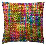 Martina Home Crochet Funda de Cojín, Tela, 50 x 50 cm