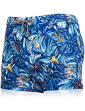 HAIYOUVK Swim Trousers Male Boxer Shorts Printed Boxer Male Swim Trunks Holiday Spa Pants Beach Swimsuit,M,Gmy917...