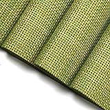6er Set Tischsets U'Artlines Waschbare Platzsets Rutschsicher Hitzebeständig Platzdeckchen 45*30cm(Grün) - 6