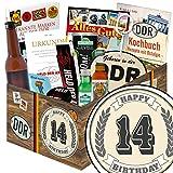 Geschenk zum 14. | Geschenkbox | Männergeschenke | 14 Hochzeitstag Geschenk | INKL DDR Kochbuch