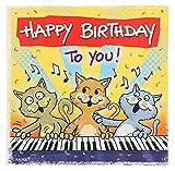 Depesche 3865.016 Glückwunschkarte mit Musik und Motiv von Archie, Geburtstag, Mehrfarbig