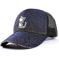 JYJSYM Verano quitasol Hat, Cap Gorra de Béisbol de Verano, Hombres Mujeres Anti - UV Protector Solar, sombrilla, Sombrero de Turismo de Playa Deportes al Aire Libre,Amarillo