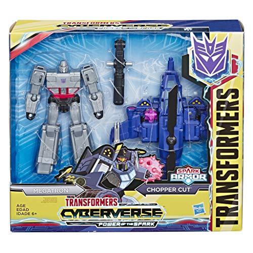 Transformers E4327ES0 TRA CYBERVERSE Spark Armor Megatron, Multicolour