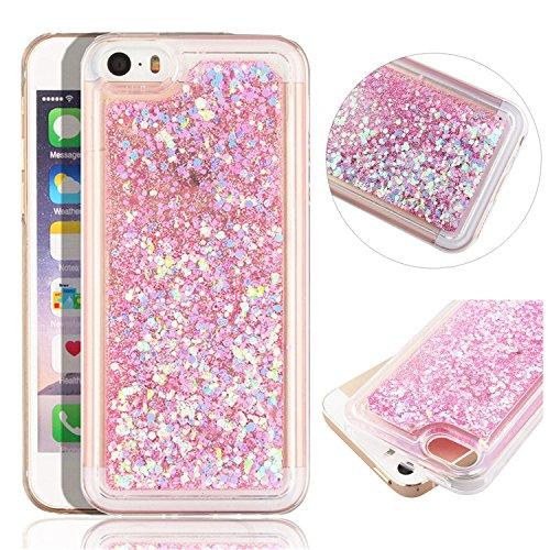 iphone-se-glitzer-hulleiphone-5s-case-transparentiphone-se-tpu-caseiphone-5s-flussige-casehulle-fur-